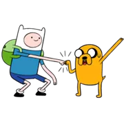 Adventure Time Sticker 3