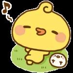 Piyomaru αυτοκόλλητο 2
