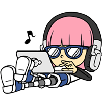 Hacker Girl Sticker 1