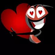 Liefde is in de Sticker Air 8