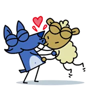 Love Is In The Air Sticker 13