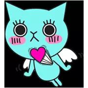 Liefde is in de Sticker Air 24