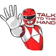 Power Rangers Sticker 17