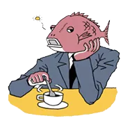 Business Fish Sticker 14