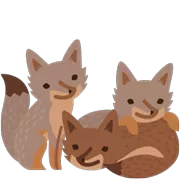 Foxes Sticker 1