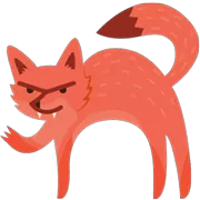 Foxes Sticker 40