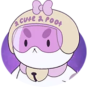 Ape E PuppyCat Sticker 1