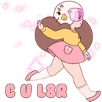 Bee Og PuppyCat Sticker 4