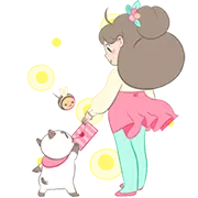 Bee Og PuppyCat Sticker 10