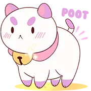 Ape E PuppyCat Sticker 14