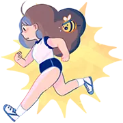Bee Og PuppyCat Sticker 15