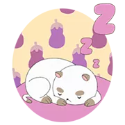 Ape E PuppyCat Sticker 16