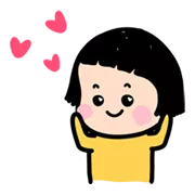 Mobile Girl MiM Sticker 25