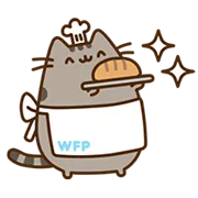Pusheen Eats Sticker 4