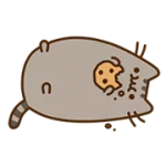 Pusheen Eats Etiqueta 5