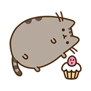 Pusheen Eats Sticker 6