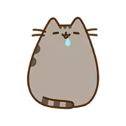 Pusheen Eats Sticker 7