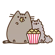 Pusheen Eats Sticker 13