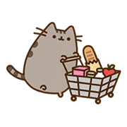 Pusheen Eats Sticker 14