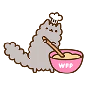 Pusheen Eats Sticker 16