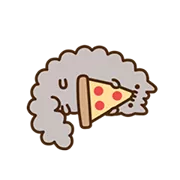 Pusheen Eats Sticker 19