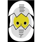 Sunny Eggy matrica 27