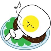 सनी Eggy स्टीकर 31