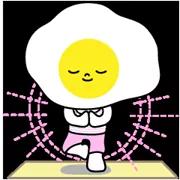 Sunny Eggy matrica 38