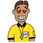 The Ref Sticker 14