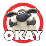 Shaun The Sheep Sticker 2 3