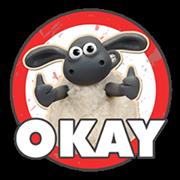 Shaun a bárány matrica 2 3