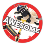 Sauen Shaun Sticker 2 5
