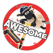 Shaun The Sheep Sticker 2 5
