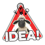 Shaun The Sheep Sticker 2 6