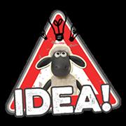 Shaun a bárány matrica 2 6
