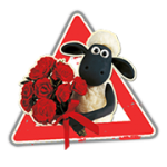 Sauen Shaun Sticker 2 7