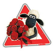 Shaun The Sheep Sticker 2 7