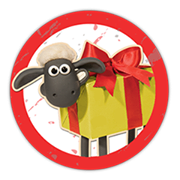 Shaun The Sheep Sticker 2 8