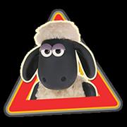 Shaun a bárány matrica 2 17
