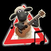 Shaun a bárány matrica 2 18