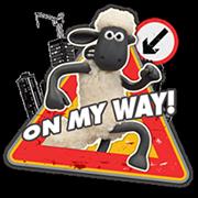 Shaun a bárány matrica 2 20