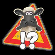 Shaun a bárány matrica 2 21