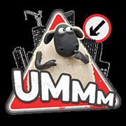 Shaun The Sheep Sticker 2 22