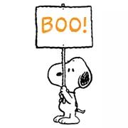 Los estados de ánimo etiqueta de Snoopy 1