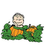 Snoopy Harvest Sticker 4