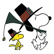 Snoopy Harvest Sticker 7