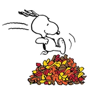 Snoopy Harvest Sticker 8