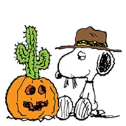 Snoopy Harvest Sticker 10
