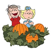 Snoopy's Harvest Sticker 15