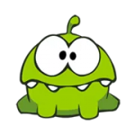 Cut the Rope naljepnica 5